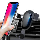 One Hand 360° Universal Gravity Car Mount Air Vent Holder Cradle For Cell Phone
