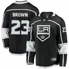 Fanatics Branded Dustin Brown Los Angeles Kings Black Breakaway Jersey NHL