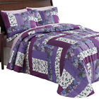 Caledonia Quilted Floral Bedspread, by Collections Etc image