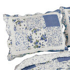 Hadley Floral Patchwork Quilted Pillow Sham, by Collections Etc image