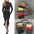 New Womens' Small Retro Velvet Waist Bag Phone Money Pouch Belt Purse Wallet