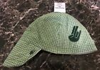 SHOCKER GREEN BASKET WEAVE Welding Hat Welder Hats Cap American Hotties Caps