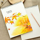 SALE! A4 Size Coil Sketch Book Drawing Practice Book Art Paper Book