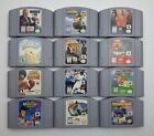 Nintendo 64 Games (Q-Z) N64 (Tested) - Pick Your Game/s 007 thru Legend of Zelda $8.99 USD on eBay