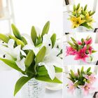 10pcs Tulip Artificial Flower Bridal Wedding Bouquet Home Decor BEAUTIFUL NEWLY