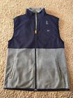 GapFit Boys Vest Gap Outerwear Msrp 30 Navy Gray NWT