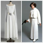 Princess Leia Costume Adult Star Wars Halloween Fancy Dress Costume Cosplay