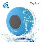 Bluetooth Waterproof Speaker with Built in mic & Dedicated Suction Cup Blue Red
