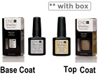 CND Shellac UV Nail Polish Choose from Colours BASE AND TOP COAT Collection UK