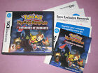 NINTENDO DS 3DS POKEMON REPLACEMENT CASE COVER MANUAL INSERTS NO GAME YOU PICK