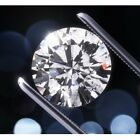 Loose Moissanite Grey Color SI2 7.85 MM to 8.90 MM Round Excellent Cut