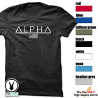 ALPHA Gym Rabbit T Shirt 7 colors Workout Bodybuilding Fitness Lifting D135 image