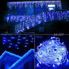 96-1000 LED Christmas Be in the driver's seat Light Fairy Indoor/Outdoor Icicle Curtain Lamp Blue