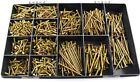 1700 PC 6g 7g 8g 10g TIMCO ASSORTED YELLOW ZINC CHIPBOARD SOLO WOOD SCREWS KIT