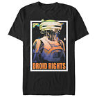 Solo: A Star Wars Story L3-37 Droid Rights Mens Graphic T Shirt $22.95 USD on eBay
