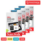 Sandisk Micro Sd Card 16gb 32gb 64gb 128gb Tf Class 10 Nintendo switch