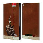 OFFICIAL BRANDALISED STREET GRAPHICS LEATHER BOOK WALLET CASE FOR AMAZON FIRE