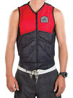 2018 Liquid Force Z Cardigan Zip Wakeboard Impact Vest, S or M or L, Red. 61347