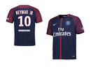 NEW 2017/2018 CHAMPIONS LEAGUE PSG NEYMAR JR 10 HOME SHIRT, SHORT SLEEVE