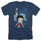 Betty Boop in TIMES SQUARE New York City Adult Heather T-Shirt All Sizes $33.03 CAD on eBay