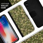 Military Camouflage V2 iPhone Leather Credit Card Wallet Case