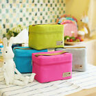 US Portable Insulated Thermal Cooler Bento Lunch Box Tote Picnic Storage Bag New