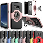 Hybrid Shockproof Ring Stand Rugged Case Cover For Samsung Galaxy S7 / S7 Edge