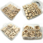 Natural Hexagon Wooden Teething Beads Kit DIY Baby Chew Teether Necklace Making
