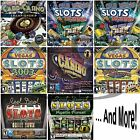 Casino Slots Software Games PC Windows XP Vista 7 8 10 Factory Sealed New