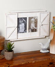 Rustic Barn Door Photo Frame -