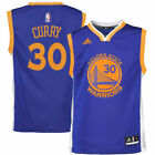 adidas Stephen Curry Golden State Warriors Youth Royal Blue