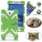 "US Green Kids Safe Shockproof Silicone Cover Case Universal For 7"" ~ 7.9"" Tablet"