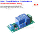 Battery Low Voltage Cut off Discharge Protection High Stop Charge Switch Module