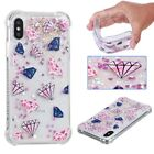 Iphone 6s Case Soft X Liquid Glitter IPod Rubber Hybrid Silicone 5 Bling + 7
