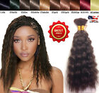 Wet N Wavy Bulk hair HUMAN HAIR QUALITY Micro Braiding Bulk Style 2 Packs 18 In