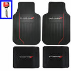 Dodge Car Truck Front / Back All Weather Heavy Duty Rubber Floor Mats / Keychain $62.79 USD on eBay