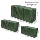 Waterproof Large Heavy Duty PU Cushion Storage Bag Patio Garden Furniture Cover