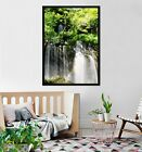 3d Grove Waterfall 675 Fake Framed Poster Home Decor Print Painting Unique Art