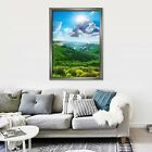 3d Clouds Hill 5575 Fake Framed Poster Home Decor Print Painting Unique Art