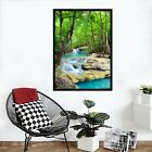 3d Forest Stream 677 Fake Framed Poster Home Decor Print Painting Unique Art