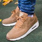 NEW NIKE AIR MAX 90 ULTRA 2.0 LTR MEN'S SHOES FLAX SAIL GUM MED BROWN 924447-200