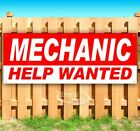 MECHANIC HELP WANTED Advertising Vinyl Banner Flag Sign Many Sizes USA