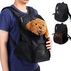 Pouch Brown Small Bag Mesh Windows Double Backpack Travel Cat Carrier Dog Pet