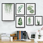 modern country style decorating - Home Pastoral Nordic Style Minimalist Green Plant Leaves Modern Decor Paintings