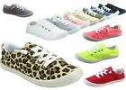 NEW Women's Causal Slip On Lace Up Look Conform Sneaker Shoes Size 5.5 - 11
