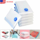 US Clothing Package Seal Vacuum Compressed Organizer Storage Pouch Bags Useful