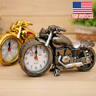 Motorcycle Motorbike Shape Alarm Clock Creative Home Birthday Gift Cool Clock US