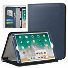 MoKo Genuine Leather Case Flip Stand Cover for iPad 9.7 2018/2017 iPad Air/Air 2