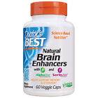 Natural Brain Enhancers, Promote Memory & Attention, 60 Veg Caps, Doctor's Best