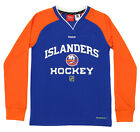 Reebok NHL Youth New York Islanders Covert Long Sleeve Tee, Blue $12.99 USD on eBay